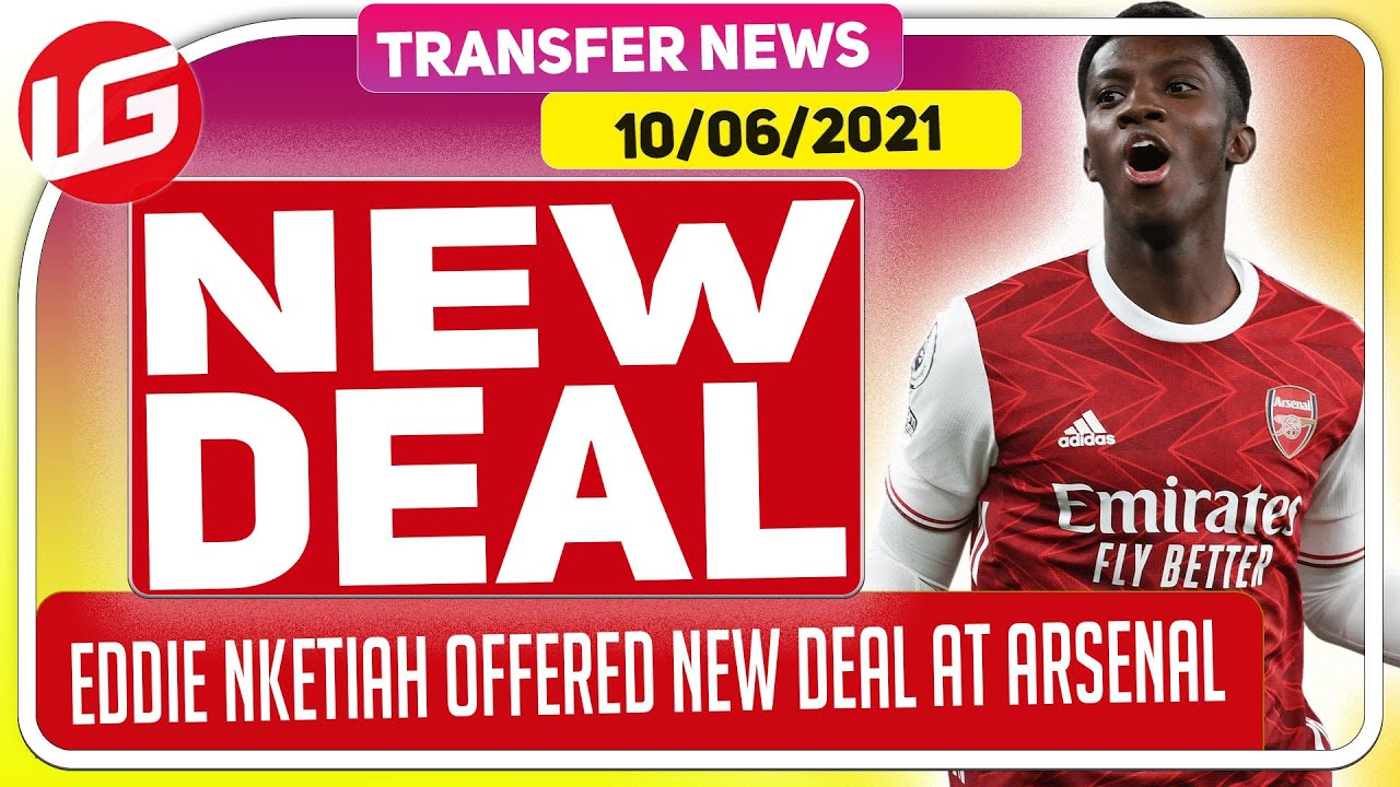 WTF IS THIS? NKETIAH TO BE OFFERED A NEW CONTRACT