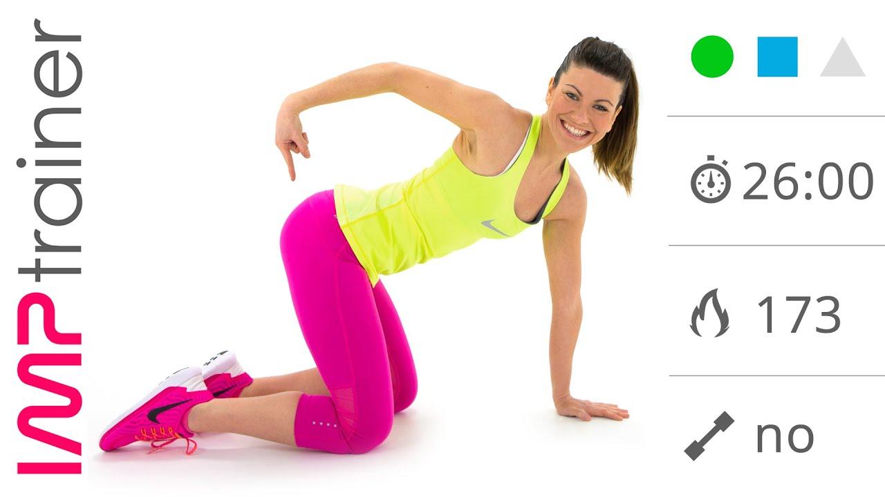 Allenamento Cardio Esercizi Glutei per Dimagrire e Tonificare