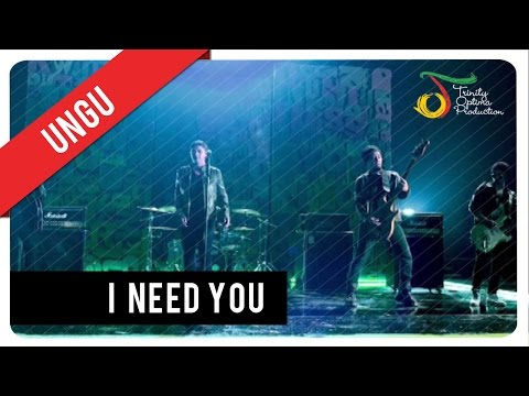 UNGU - I Need You (with Lyric) | VC Trinity