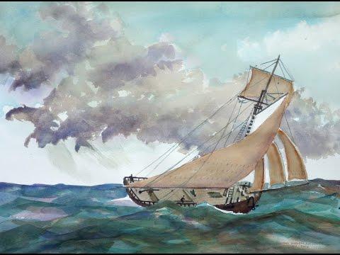 Sloop Washington - 18th Century Ship Discovered in Lake Ontario