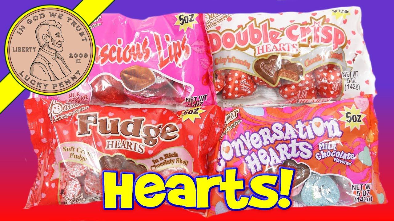 Palmer Chocolate Fudge Hearts