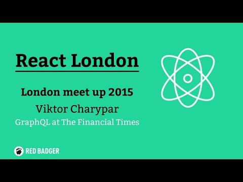 React London Meetup August 2015, Viktor Charypar, GraphQL at The Financial Times