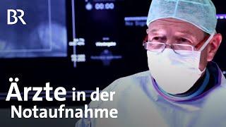 Mit Ärzten unterwegs: in der Notaufnahme und Herzchirurgie - BR Fernsehen