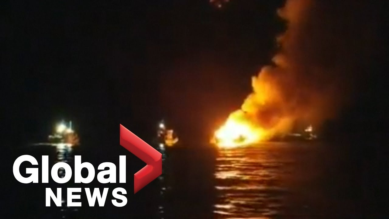 At least 8 killed in deadly boat fire off Southern California coast