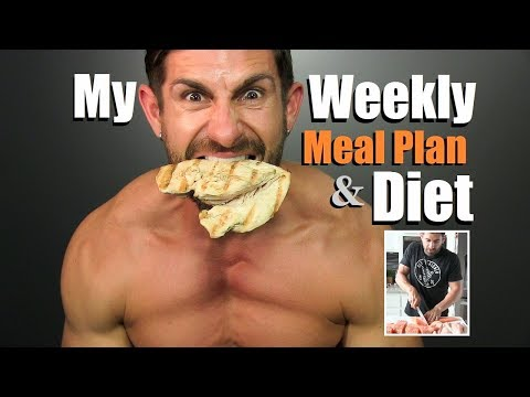 Get LEAN & Build MUSCLE Diet Plan | My Weekly Meal Plan & Pr