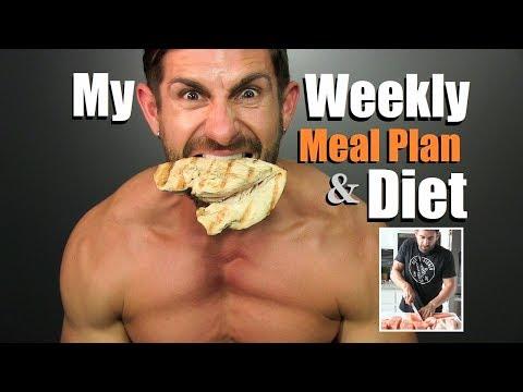 Get LEAN & Build MUSCLE Diet Plan | My Weekly Meal Plan & Prep | Alpha M. Diet VLOG