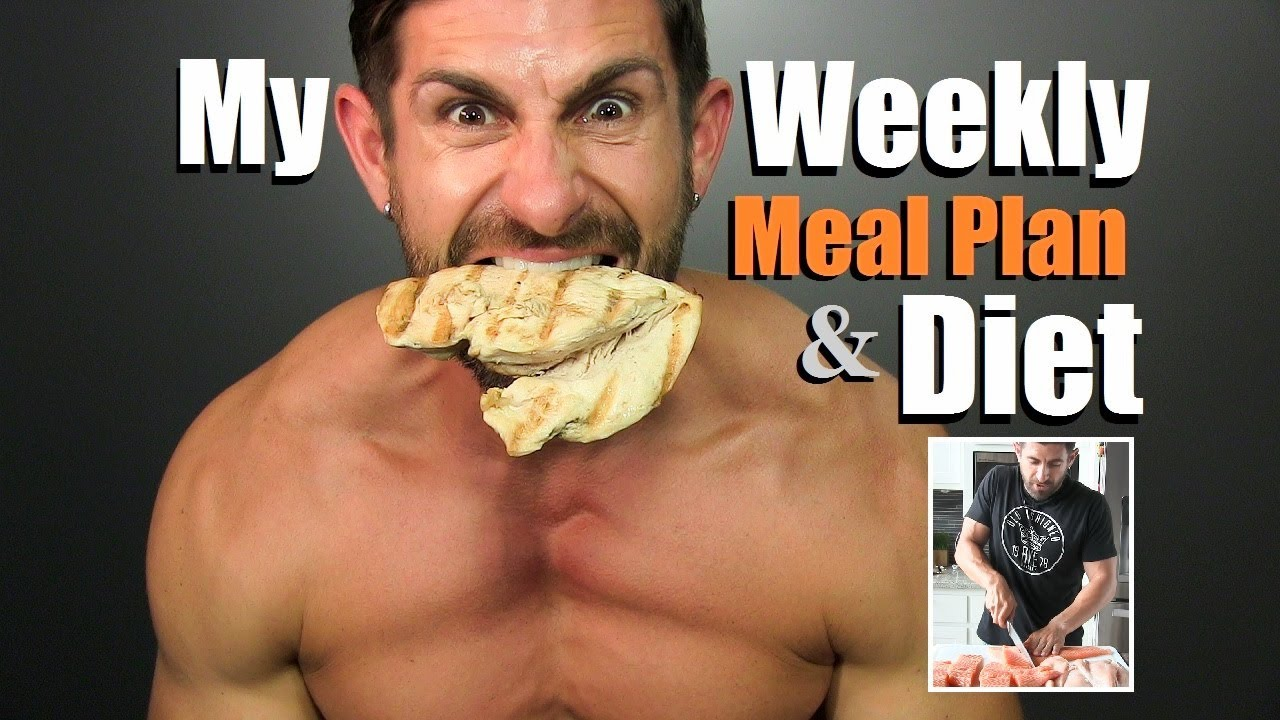 Get Lean Build Muscle Diet Plan My Weekly Meal Plan Prep Alpha M Diet Vlog Youtube