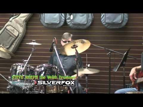 Steve Joseph, The Welsh Drummer At ABC Music In rmore