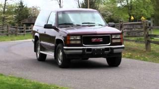 1994 GMC Yukon 2 Door Turbo Diesel Sport 6.5 V8 Detroit