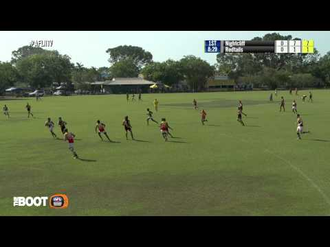 TIO NTFL Round 3; Nightcliff Tigers v Central Australian Red