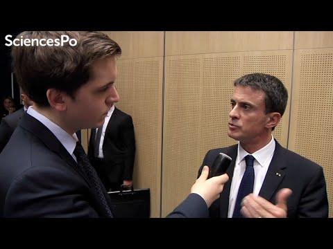 Interview de Manuel Valls à Sciences Po