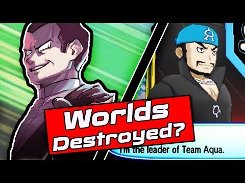What Would The Evil Team Worlds Look Like? - Pokemon Ultra Sun And Pokemon Ultra Moon Theory