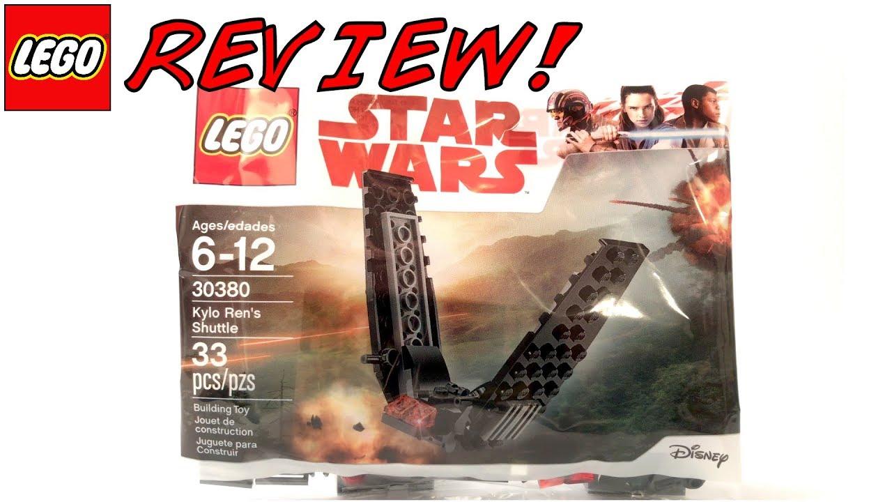 NEW LEGO Star Wars Kylo Ren/'s Shuttle 30380