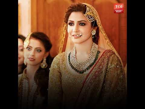 5 Stylish Wedding Looks Of Anushka Sharma That Prove Virat Kohli Is One Lucky Man