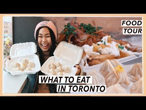 Eating All Around Toronto | Canada Food Travel Vlog