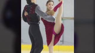 フィギュアスケートの澤山璃奈さんの画像です。