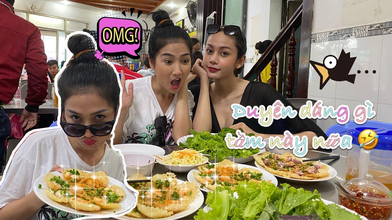 #2 Gạt bỏ sự duyên dáng Quỳnh Lam rủ rê Lương Mỹ Kỳ ăn uống bất chấp