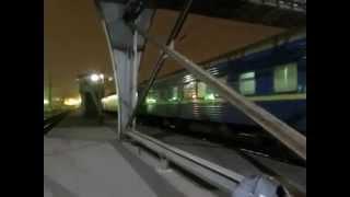 ...как объявляют поезда на вокзале города Львов.