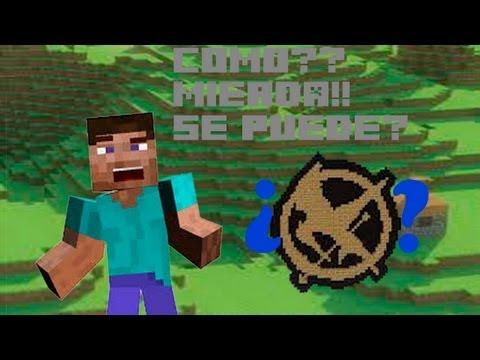 Minecraft | ¿Como sobrevivir en los juegos del hambre? PARODIA
