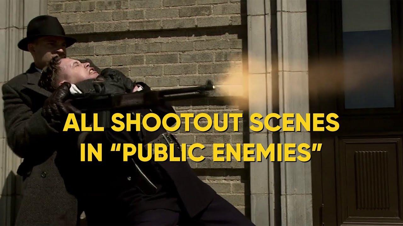 "Download ALL SHOOTOUT SCENES IN ""PUBLIC ENEMIES"""