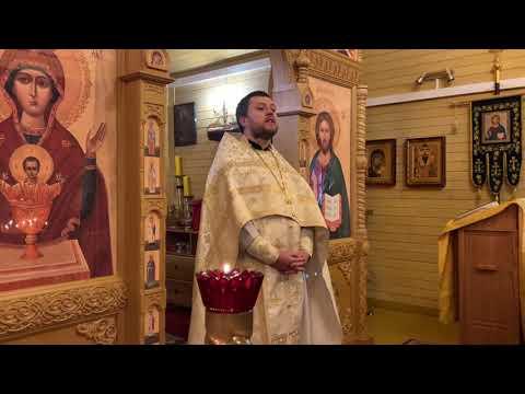 Свящ. Роман Колесников. Проповедь на Божественной Литургии 10 ноября 2019 года