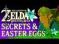 Zelda Breath of the Wild Easter Eggs & S
