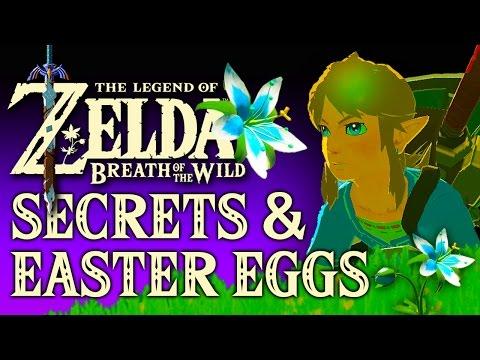 Zelda Breath of the Wild Easter Eggs & Secrets