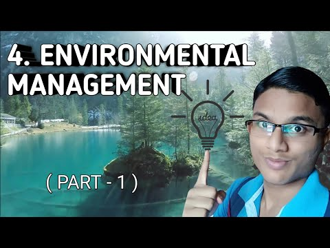 Environmental Management | Maharashtra State Board | STD 10 | 2018 portion(new)(Part 1)