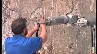 Гидроклин. Демонтаж бетона. Разрушение горных пород(Гидроклин. Как происходит демонтаж бетона и разрушение горных пород гидроклином. Адрес видео: http://youtu.be/S0thMWa..., 2014-01-17T14:59:46.000Z)