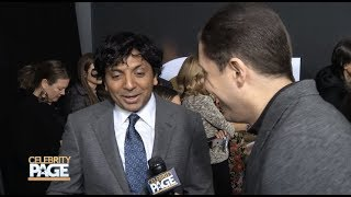 On the Red Carpet for M. Night Shyamalan