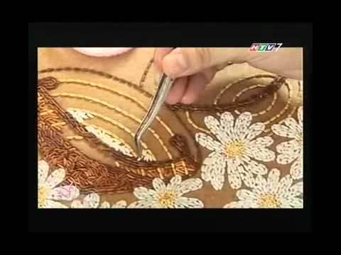 Vietnamese Rice Painting in Ho Chi Minh city Television