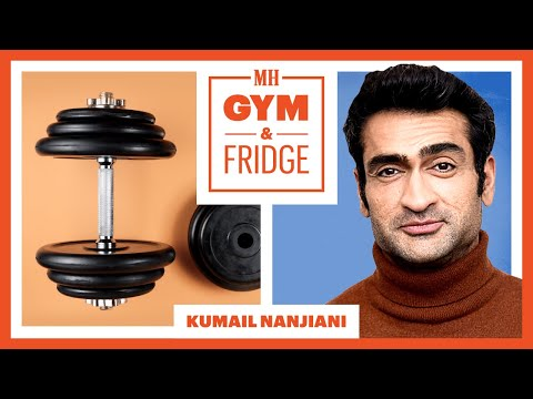 Kumail Nanjiani Shows His Gym & Fridge | Gym & Fridge | Men's Health