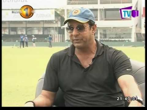 Special Interview with Wasim Akram TV1 08th December 2016