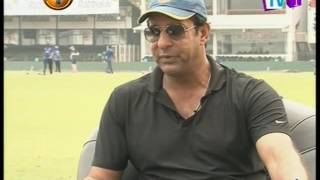 Special Interview with Wasim Akram  08th December 2016