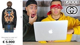 BLIND BEI GUCCI BESTELLEN !!! | PrankBrosTV