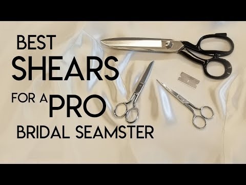 My Favorite, Best Shears And Scissors For A Professional Seamster, Seamstress, Tailor, Alterations