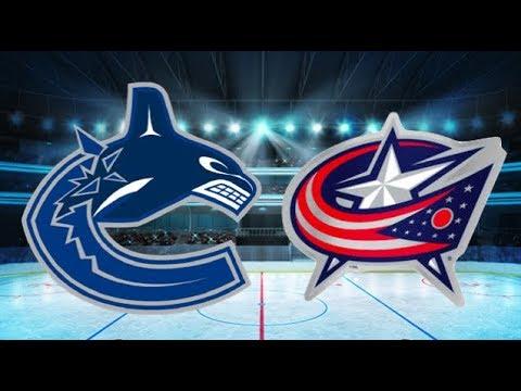 Vancouver Canucks vs Columbus Blue Jackets (5-2) – Jan. 12, 2018 | Game Highlights | NHL 2018