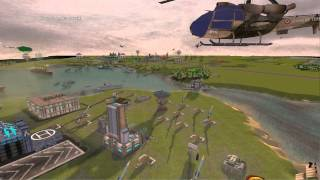 Empire Earth II - Missiles & Anti-Missiles - view from the ground