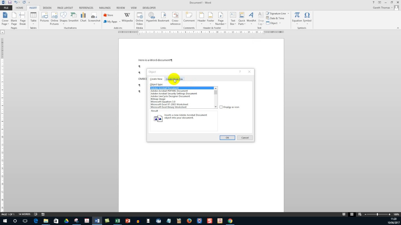 how to change a pdf document into a word document