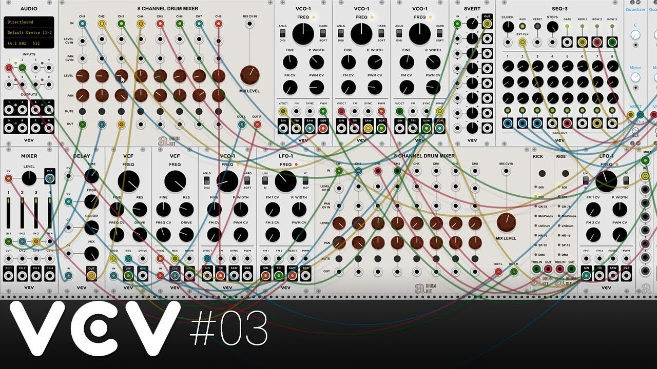 VCV Rack #03 - Polyphonic delays