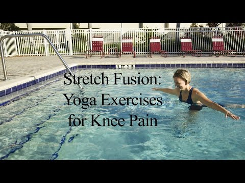 Aqua Yoga for Knee Pain STRETCH FUSION#2 - WECOACH