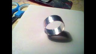 Как сделать кольцо из фольги?