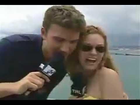 Ben Affleck Gropes MTV Host Hilarie Burton