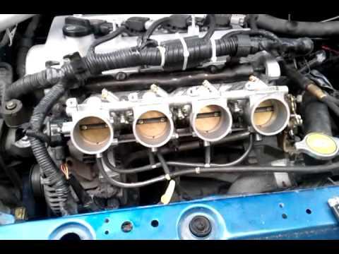 2004 Toyota Echo Itb First Test Stock Ecu Youtube