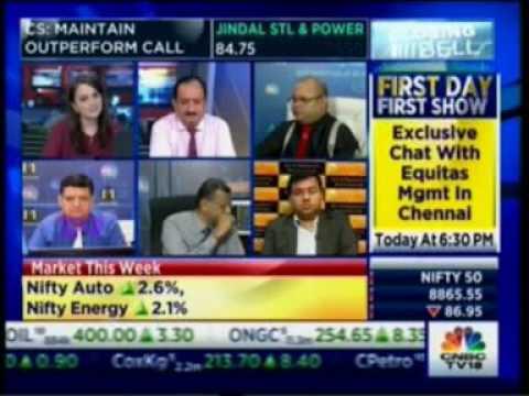 Mr  Varun Goel on CNBC NSE Closing Bell