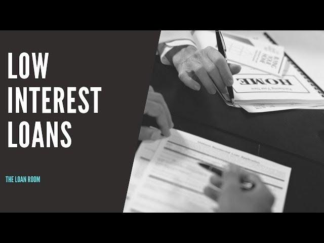 Low Interest Rate Loan