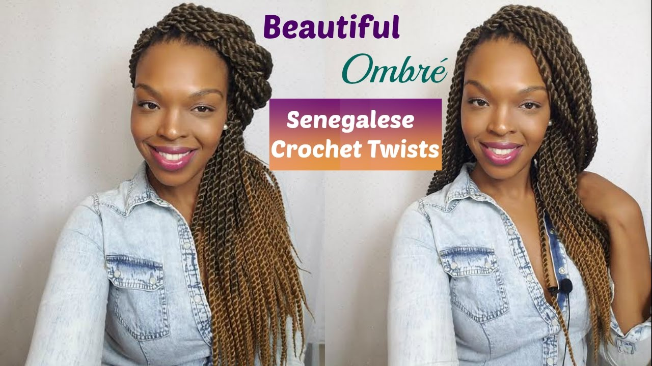 Review Demo Beautiful Ombre Crochet Senegalese Twists Beautycanbraid Sedbeauty