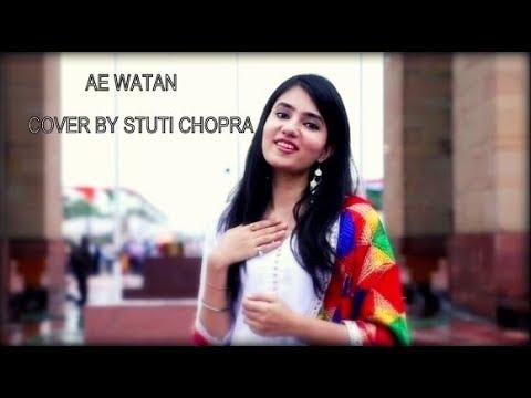 Download Lagu  Ae Watan | Stuti Chopra| Female Cover | Raazi | Alia Bhatt | Arijit Singh | Sunidhi Chauhan Mp3 Free