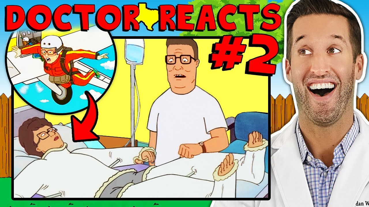 ER Doctor REACTS to Funniest King of the Hill Medical Scenes #2