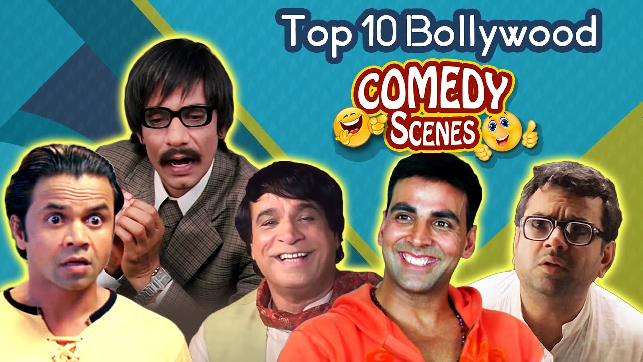 Download Top 10 Bollywood Comedy Scenes - Rajpal Yadav   Johnny Lever   Paresh Rawal   Akshay Kumar
